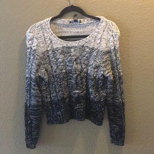 INC Sweater mixed thread